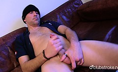 Sexual Straight Rex Jerking Off His Prick
