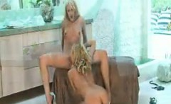 Blonde Lesbians Making Out