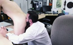 A dude pawns his ass and sucks huge dicks to earn the money