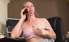 Catherine Gets Dirty While On the Phone