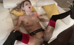 Horny blonde Natasha Starr become a tribute