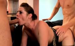 Busty girlfriend anal play