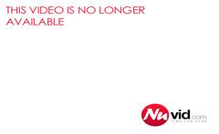 Fat Woman Outside Flashing A Cargo Ship