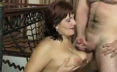 older russian woman and her younger lover