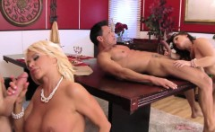 Busty swinger housewives fucking for facials
