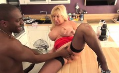 Emmanuelle 47 years old takes huge black cock