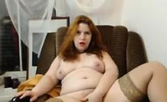 Fat Cam Chick Teasing