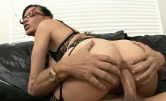 Mature Ludie anal jammed