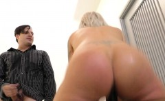 Creampied babe cuckolds