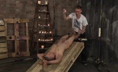 New adorable twink Chris Jansen used for a hot foot wanking