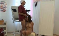 Russian Doc Fucks his Patient