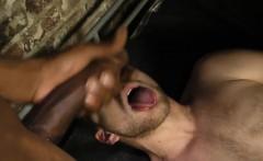 Black prisoner facializes