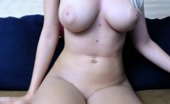 Blonde webcam pink tight pussy orgasm show