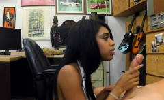 Big boobs ebony fucked by pawn keeper at the pawnshop