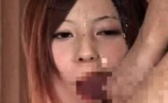 Cumming On Japanese News Girls
