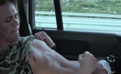 Twinks Casper Ellis and Justin having some hot fun in a car