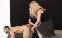 Sweeties fuck fellas anal with oversized strap-on dildos and