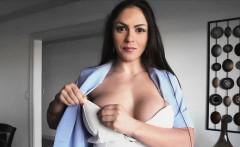 Bigtit Latina realtor blows dick