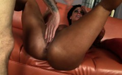 Stacked milf with a splendid ass has a young man plowing her wet cunt