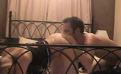 British in lingerie fucked from behind