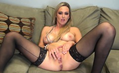 Gorgeous Abbey Brooks is Masturbating Solo