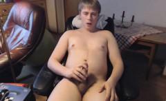 Danish Guy - Masturbation and intense orgasm
