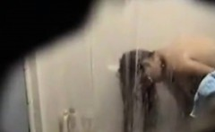 erotic shower my step mom on hidden camera