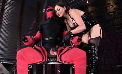 Big tits pornstar bondage with cumshot