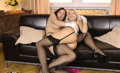 Posh british matures pussy feasted on