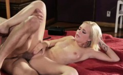 Hot blonde Alex Grey getting drilled by stepdads hard cock