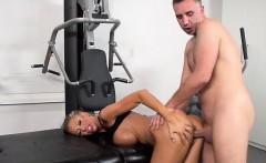Slut Courtney Taylor Gets Demolished By The Masseur