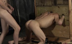 He really likes having his ass drilled with a night stick