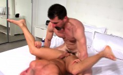 Rimmed ripped hunk cums