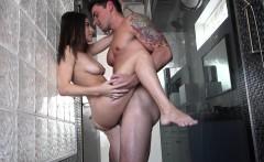 Step-Sister Ambushed In The Shower