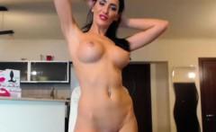 Slutty Big Tits Camgirl Masturbates Until She Squirts On Cam