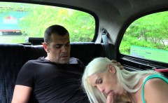 Hungarian dude bangs married cab driver
