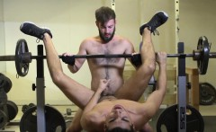 Hunky bottom rimmed and drilled at the gym