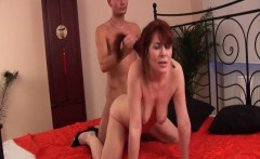 redhead stepmom need a strong cock
