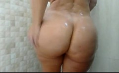 Big booty bbw shower webcam