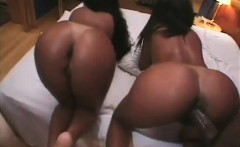 Big Ass Ebony Riding Big Black Cock