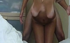 Milf with saggy tits gets doggystyle in amateur sex
