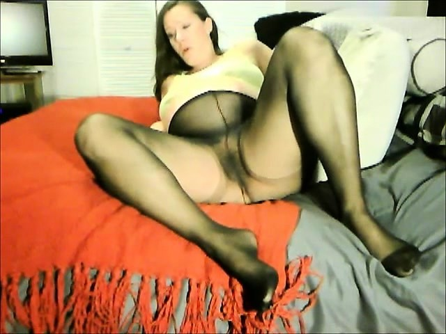 Naughty Nylon Pissdrinkers Solo Fun At Home