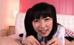 Threesome japanese joy in pov for the luckiest boy ever