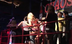 Amateur party chicks on spring break from college, dance...