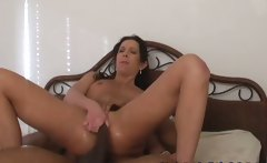 Black in Becky Cum In and Out