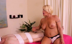 Dominant Milf Masseuse Wants That You Respect Her Rules