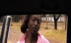 lovely ebony woman likes the taste of white meat