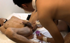 Asian twinks gobble cocks