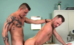 Hairy hunks Aiden Hart and Jace Chambers smash wildly