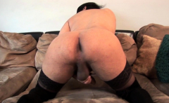 Smalltitted casting tgirl blowing big cock